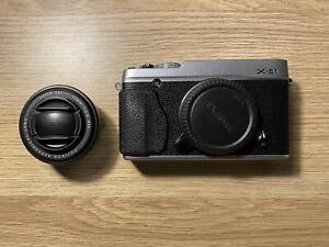 Fujifilm X-E1 & XF 27mm F2.8 Pancake Lens