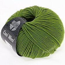 Cool Wool von Lana Grossa - Farbe 471 lindgrün - 50 g / ca. 160 m Merino