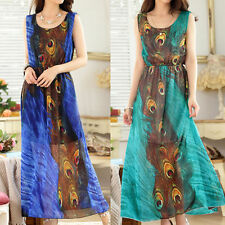 Special Occasion Animal Print Sleeveless Dresses for Women