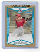 Jose Martinez 2008 Bowman GOLD Rookie Card #bp106  qty Cardinals