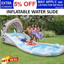 Intex Surf n Slide Inflatable Kids Water Slide Play Center Splash Pool Toy Fun
