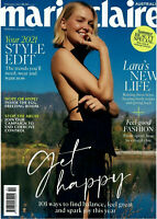 Marie Claire Australia Magazine February 2021 - Lara's New Life Get Happy