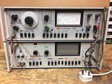 Very Rare Ferrograph RTS2  And ATU1 audio test set Fully Working