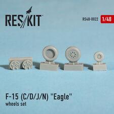 Reskit 1/48 McDonnell Douglas F-15 C/D/J/N Eagle Wheels Set