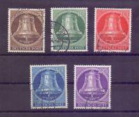 Berlin 1953 - Glocke Mitte - MiNr. 101/105 gest. geprüft - Michel 55,00 € (905)