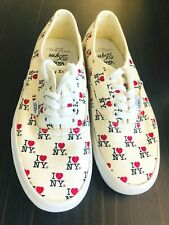 Authentic VANS DQM I Love NY Unisex Skate Shoes Size 7 (US Mens) RARE BNIB