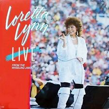 rare LORETTA LYNN: Live From Wheeling Jamboree ♫ private label Factory Sealed LP