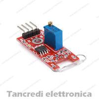 MODULO SCHEDA EFFETTO HALL AMPOLLA REED SENSORE MAGNETICO (Arduino-Compatibile)