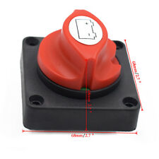 12V Battery Disconnect Cut On/Off Rotary Switch Boat RV ATV Switch New Arrival