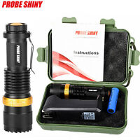 Super Bright CREE Q5 LED AA/14500 3 Modes ZOOMABLE Flashlight Light Torch Kits