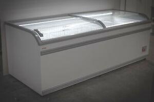 AHT Athens 2.5M (07800733055) Commercial Chest Freezer (Sliding Glass) LED