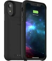 Mophie Juice Pack Access Wireless Charge Battery Case for Apple iPhone XR Black
