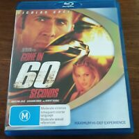 Gone in 60 Seconds Bluray LIKE NEW! FREE POST