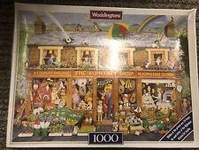 Waddingtons The Alphabet Shop 1000 Piece Jigsaw
