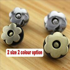 Daisy Flower Shape Magnetic Bag Clasp Button DIY Handbag Purse craft accessories