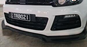 Volkswagen Scirocco front bumper lip spoiler