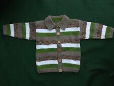 New Hand Knitted Baby's/Toddlers Cardigan  24inch