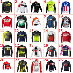 2021 New mens team Long sleeve cycling jersey cycling jeresys cycling clothes