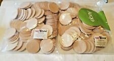 New Woodpeckers 1.5� Wooden Circles, Approx 180 Pieces Dj-54