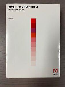Adobe CS4 & CS5.5 Design Standard For Mac w/ Serial Number (see pics)