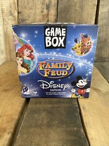 Cardinal Family Feud Disney Edition Game Box New Factory Sealed Home Fun Kids