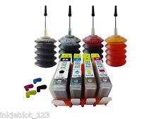 4 Refillable cartridge for HP 564 XL Deskjet 3520 Officejet 4620+4x30ml ink