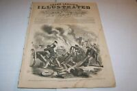 DEC 7 1861 FRANK LESLIES ILLUSTRATED - GUN SHIP SENECA