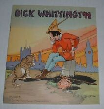 Dick Whittington Story Book-nice--B..1934 Platt + Munk