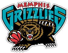 Memphis Grizzlies NBA Basketball Car Bumper Window Boat Notebook Sticker Decal .