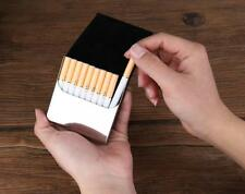 Aluminum Metal Pocket Cigarette Case Holder Container Box New for 10 Cigarettes