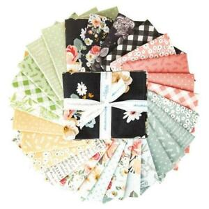 Room Decor Baby Blanket Cotton Polka Dot Floral Scrappy Quilting Houndstooth Riley Blake Fat Quarter Fabric Bundle Gift