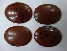Cabochon Gemstone Mahogany Obsidian 30x40mm (pkg 4)
