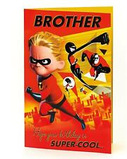 Disney's The Incredibles 2 – Supercool Brother - Birthday Card