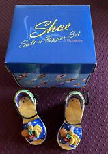 Vandor Shoe Salt & Pepper Set - Carmen Platform