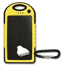Portable Solar Charger Emergency Power Mil-Spec Waterproof  LED Light