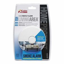 Kidde 10 Year Sealed HomeProtect Living Room Photoelectric Smoke Fire Alarm