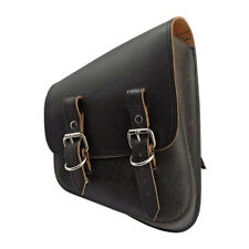 borsa sella headburro Pelle,per Harley Softail Telaio a stella Antique Brown. dx
