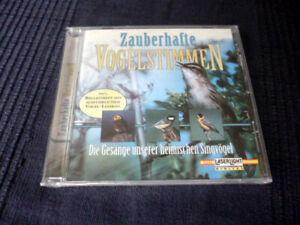 CD Zauberhafte heimische Vogelstimmen mit Zaunkönig & Nachtigall & Amsel & Meise