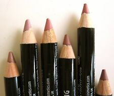 NYX Cosmetics Long Lasting Slim Lip Liner Pencils 6 Neutral Colors