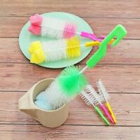 UK Baby Child Milk Bottle Nipple Teat Teapot Cleaning Nylon Brush Washing Clean