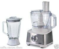 Ariete Robomax Metal + Licuadora 1783 Robot De Cocina 2100W Food Procesador 3L