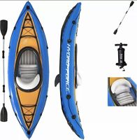 🌟Bestway Hydro-Force Cove Champion Inflatable Kayak Set W/ Paddle + Pump NIB