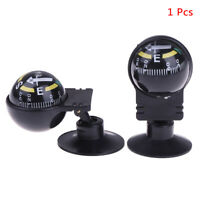 1 Pcs 360 degree rotation Navigation Ball Shaped Car Compass with Suction C KYSV