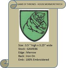 HOUSE OF MORMONT PATCH - GAME86