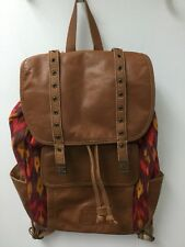 The Sak Backpack. Canvas And Leather. Large.