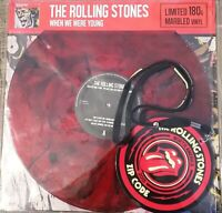 Rolling Stones - When We were young  Marbled 180 Gram Vinyl LP Keychain  NEU