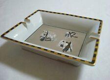 Authentic Hermes Porcelain  Cigar Ashtray