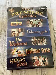 Premiere Episodes DVD Waltons ER Gilmore girls Gilligans island Flintstone Vol-1