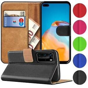Handy Hülle für Huawei Modelle Case Schutz Tasche Cover Basic Wallet Flip Etui