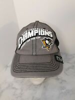Pittsburgh Penguins 2016 Hat Conference Champions Mesh Cap Adjustable 47' Mens